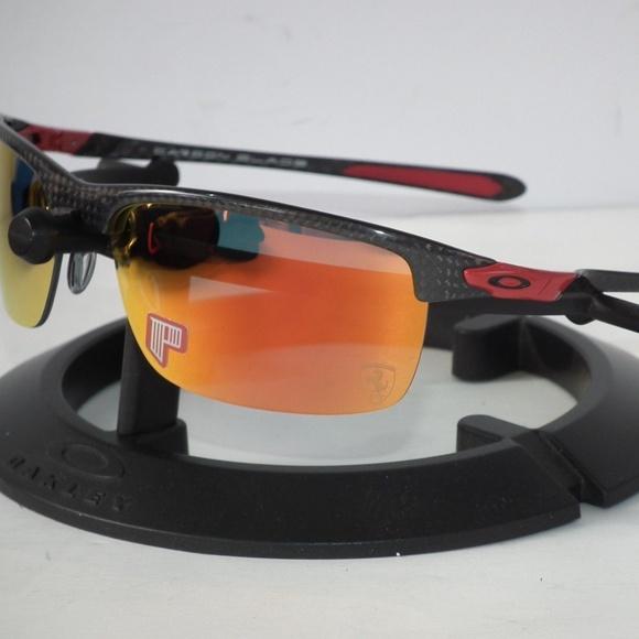 Oakley Accessories Ferrari Polarized Carbon Blade